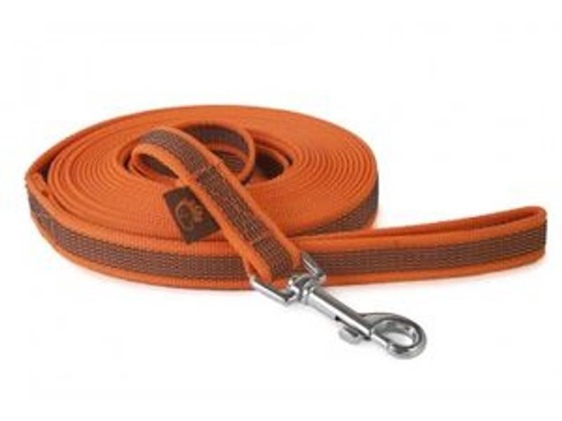 Firedog Gummiert line, 5m med håndtak